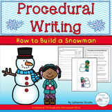 Procedural Writing- How To Build a Snowman