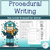 Procedural Writing- How To Get Dressed in Winter Clothing