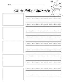 Procedural Writing - How to Make a Snowman
