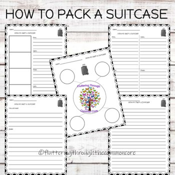 Procedural Writing    How to Pack a Suitcase
