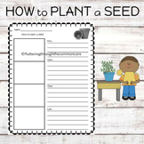Procedural Writing How to Plant a Seed