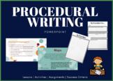Procedural Writing Instructions, Lessons & Activities!!