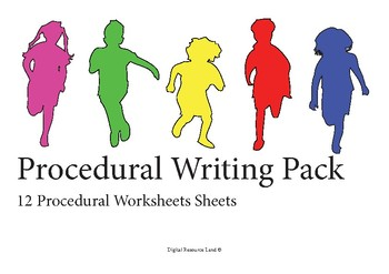Procedural Writing Pack - 12 Items
