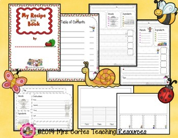 Procedural Writing - Recipe and How to Books