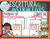 Procedural Writing - Recipe and How to Books Spanish
