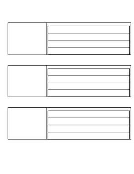 Procedural Writing Organizer and Rubric