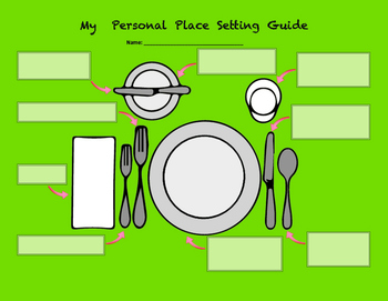 Procedural Writing - Setting the Table