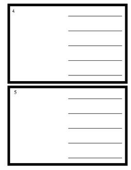 Procedural Writing Template