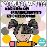 Procedural Writing Templates, Crafts, & Project