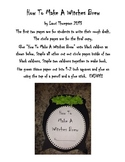 Halloween Witches Brew Procedural Writing