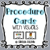 Picture Directions or Procedure Cards with Visuals