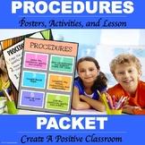 Classroom Procedure Packet