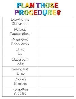 Procedure Planner