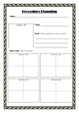 Procedure Planning Template