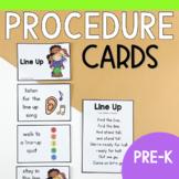 Classroom Procedure & Routine Visuals for Preschool, Pre-k