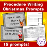 Procedure Writing Christmas Prompts