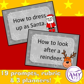 Procedure Writing Christmas Prompts