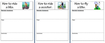 Procedure Writing - SCOOT Lesson - Grade 1-6 (30 worksheets!)