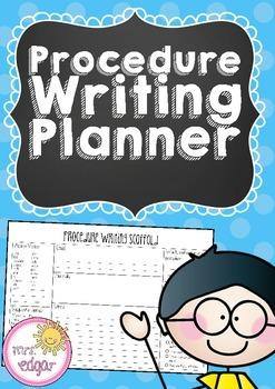 Procedure Writing Planner
