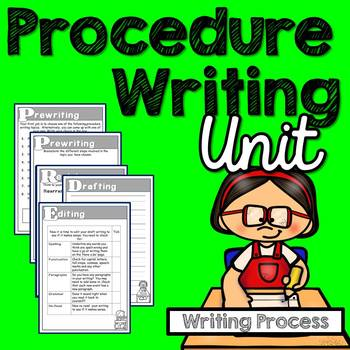 Procedure Writing (Writing Process)