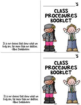 Procedures Booklet