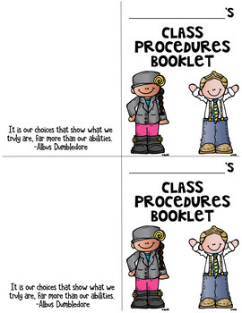 Procedures Booklet