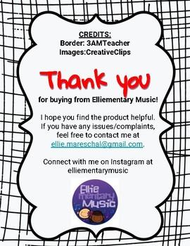 Procedures Checklists for Music Teachers