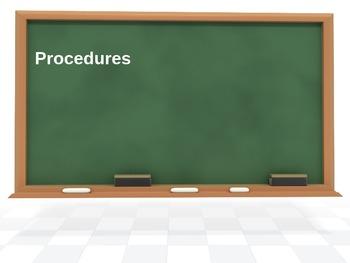 Procedures PPT