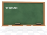 Procedures PPT