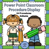 Back to School Procedures Powerpoint