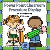 Back to School Procedures Powerpoint