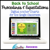Digital Anchor Charts: Back to School Procedures & Expectations