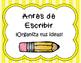 Proceso de Escritura, Carteles (Spanish Writing Process Anchor Charts)