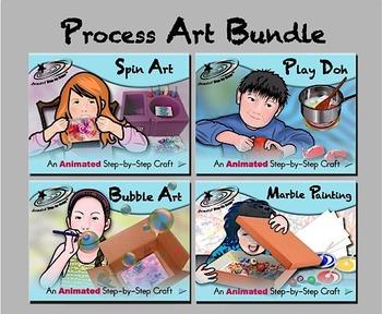 Process Art Bundle - Animated Step-by-Steps