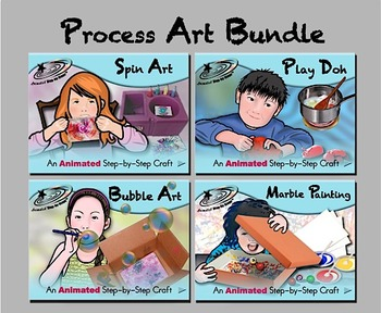 Process Art Bundle - Animated Step-by-Steps