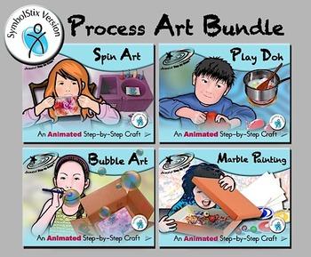 Process Art Bundle - Animated Step-by-Steps SymbolStix