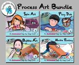 Process Art Bundle - Animated Step-by-Steps® - SymbolStix