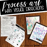 Process Art with Visual Directions