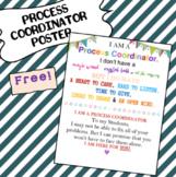 Process Coordinator Sign