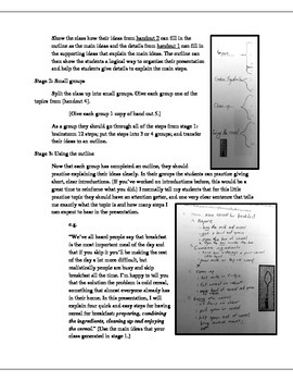 Process Presentation Packet