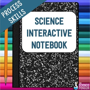 Science Process Skills Interactive Notebook: Scientific Method and More