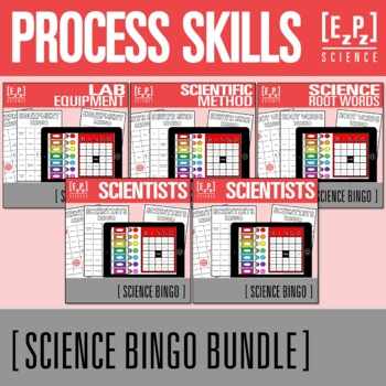 Process Skills Science BINGO Bundle