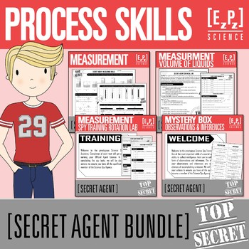 Process Skills Secret Agent Bundle