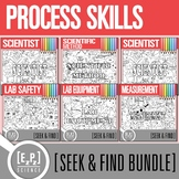 Process Skills Seek and Find Science Doodle Pages Bundle