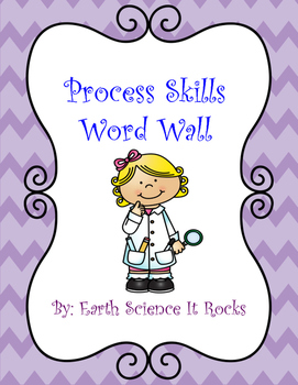 Process Skills Word Wall