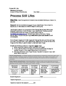 Process Still Lifes