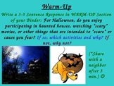 Process Writing Common Core Intro. PPT w/Engaging Activity (6 Traits)