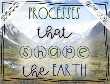 Processes That Shape the Earth- NGSS