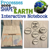 Processes that Shape the Earth {Earth Science} Interactive Notebook