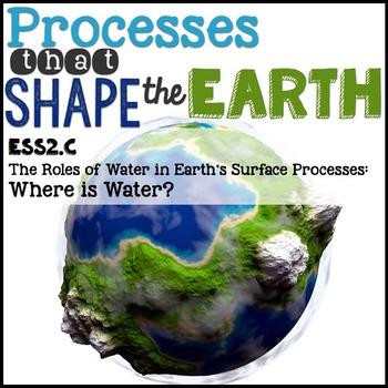 Processes that Shape the Earth {Earth's Systems} 2.C: Where is Water?